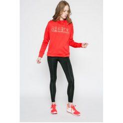 Reebok - Bluza. Czarne bluzy sportowe damskie marki DOMYOS, z elastanu. W wyprzedaży za 139,90 zł.