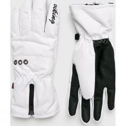 Viking - Rękawiczki. Czerwone rękawiczki damskie marki Viking, z materiału. Za 129,90 zł.