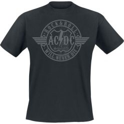 T-shirty męskie: AC/DC Rock & Roll – Will Never Die T-Shirt czarny