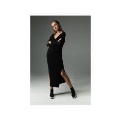Sukienka the Ruler - czarna. Czarne sukienki dzianinowe Madnezz, s, z aplikacjami, wyszczuplające. Za 279,00 zł.