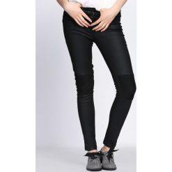 Spodnie damskie: Czarne Spodnie Falling Down