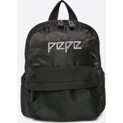 Pepe Jeans - Plecak. Czarne plecaki damskie Pepe Jeans, z jeansu. W wyprzedaży za 199,90 zł.