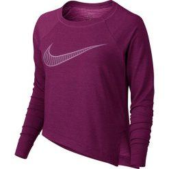 Bluzy sportowe damskie: bluza sportowa damska NIKE DRY TOP LONG SLEEVE / 833652-665 – NIKE DRY TOP LONG SLEEVE