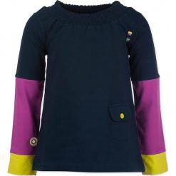 """Bluzka """"Overjoyed"""" w kolorze różowo-żółto-granatowym. Niebieskie bluzki dziewczęce marki 4FunkyFlavours Kids. W wyprzedaży za 82,95 zł."""