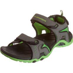 """Rzymianki damskie: Sandały trekkingowe """"Akropong"""" w kolorze szaro-zielonym"""