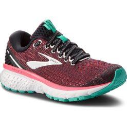 Buty BROOKS - Ghost 11 120277 1B 017 Black/Pink/Aqua. Czarne buty do biegania damskie Brooks, z materiału. W wyprzedaży za 399,00 zł.