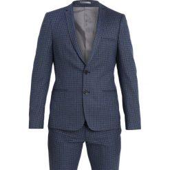Viggo DRESDEN SUIT SLIM FIT Garnitur blue. Niebieskie garnitury Viggo, z elastanu. Za 759,00 zł.