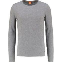 Swetry klasyczne męskie: BOSS Orange TERRIS SLIM FIT Sweter light/pastel grey