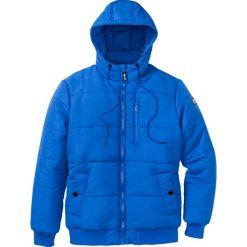 Kurtka pikowana Regular Fit bonprix lazurowy. Niebieskie kurtki męskie pikowane marki bonprix, na zimę, m. Za 249,99 zł.