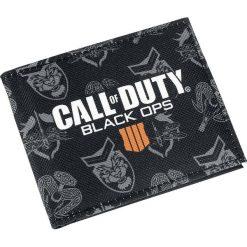 Call Of Duty Black Ops 4 Portfel standard. Czarne portfele męskie Call Of Duty. Za 99,90 zł.