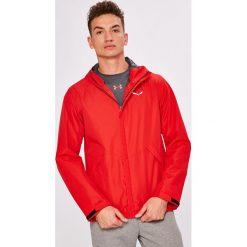 Salewa - Kurtka. Czerwone kurtki męskie przejściowe marki Salewa, l, z materiału, z kapturem. W wyprzedaży za 399,90 zł.