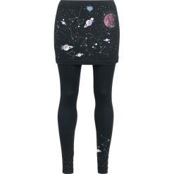 Outer Vision Vicenza Planetarium Legginsy czarny. Czarne legginsy Outer Vision, l, z jeansu. Za 129,90 zł.
