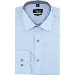 Koszula bexley 2627/1 długi rękaw slim fit niebieski. Szare koszule męskie slim marki Recman, na lato, l, w kratkę, button down, z krótkim rękawem. Za 129,00 zł.