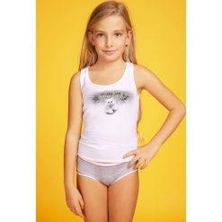 Odzież dziewczęca: Komplet dziewczęcy: figi i podkoszulka Susan