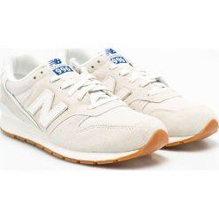 New Balance - Buty. Szare buty sportowe męskie marki New Balance, z materiału. W wyprzedaży za 239,90 zł.