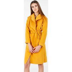 Płaszcze damskie: Płaszcz materiałowy – 65-6168A SENA