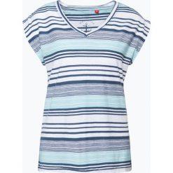 T-shirty damskie: s.Oliver Casual – T-shirt damski, niebieski