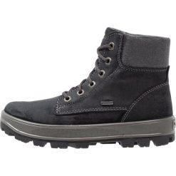 Superfit TEDD Śniegowce schwarz. Czarne buty zimowe chłopięce marki Superfit, z materiału. W wyprzedaży za 227,40 zł.