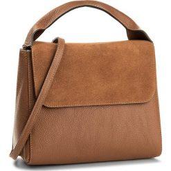 Torebka CREOLE - K10457  Koniak. Brązowe torebki klasyczne damskie Creole, ze skóry, duże. W wyprzedaży za 229,00 zł.