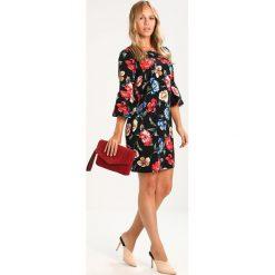 Sukienki hiszpanki: Dorothy Perkins Petite FLORAL SHIFT Sukienka letnia black