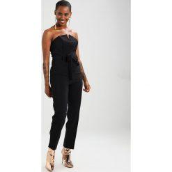 Kombinezony damskie: Miss Selfridge Petite BANDEAU Kombinezon black