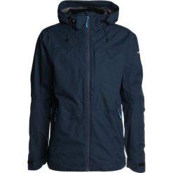Icepeak SAHAR Kurtka przeciwdeszczowa navy blue. Niebieskie kurtki trekkingowe męskie Icepeak, m, z materiału. W wyprzedaży za 356,85 zł.