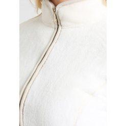 Deha COZY  Bluza rozpinana white snow. Białe bluzy damskie Deha, m, z materiału. W wyprzedaży za 367,20 zł.