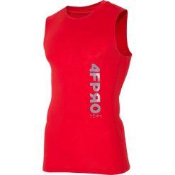 Odzież termoaktywna męska: Koszulka baselayer 4FPro TSMF402 - czerwony allover
