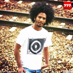 Koszulka T-DUAL B&W. Białe t-shirty męskie z nadrukiem Pakamera. Za 77,00 zł.
