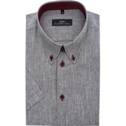 Koszula SERGIO SLIM 14-02-47. Szare koszule męskie slim marki House, l, z bawełny. Za 149,00 zł.
