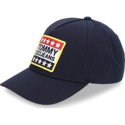 Czapka z daszkiem TOMMY JEANS - Tjm Logo Patch Cap AM0AM03265 413. Niebieskie czapki z daszkiem męskie marki Tommy Jeans, z bawełny. W wyprzedaży za 159,00 zł.