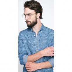 Tommy Hilfiger - Koszula. Szare koszule męskie na spinki TOMMY HILFIGER, l, z bawełny, button down, z długim rękawem. W wyprzedaży za 269,90 zł.