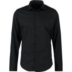 Koszule męskie na spinki: Seidensticker SLIM FIT Koszula schwarz