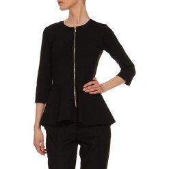 Bluzki asymetryczne: Bluzka w kolorze czarnym