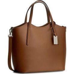 Torebka CREOLE - K10318 Brązowy. Brązowe torebki klasyczne damskie Creole, ze skóry. W wyprzedaży za 259,00 zł.