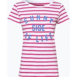 Marie Lund - T-shirt damski, różowy. Czerwone t-shirty damskie Marie Lund, m, z nadrukiem. Za 59,95 zł.