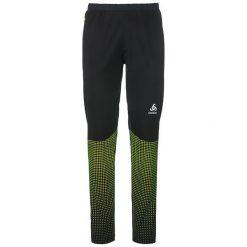 Odlo Spodnie tech. Odlo Pants STRYN PRINT                                - 622162 - 622162/60088/L. Czarne spodnie sportowe damskie marki Odlo, l. Za 261,35 zł.