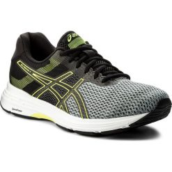 Buty ASICS - Gel-Phoenix 9 T822N Stone Grey/Black/Safety Yellow 1190. Czarne buty do biegania męskie marki Asics, z gumy. W wyprzedaży za 279,00 zł.