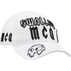 McQ Alexander McQueen Czapka z daszkiem white. Białe czapki z daszkiem damskie McQ Alexander McQueen, z bawełny. Za 359,00 zł.