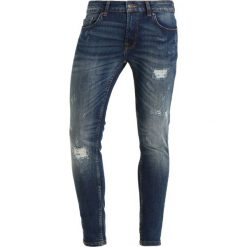 Only & Sons ONSWARP MED BLUE BREAKS Jeans Skinny Fit medium blue denim. Brązowe jeansy męskie relaxed fit marki Only & Sons, l, z poliesteru. W wyprzedaży za 174,30 zł.