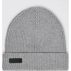 Pepe Jeans - Czapka. Szare czapki zimowe męskie Pepe Jeans, na zimę, z bawełny. Za 99,90 zł.