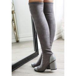 Szare Kozaki Midnight Hour. Szare buty zimowe damskie vices, na wysokim obcasie. Za 99,99 zł.