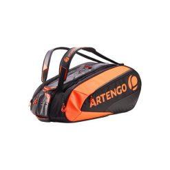 Torba Sporty Rakietowe Tenis Lb 960. Czarne torby podróżne marki ARTENGO, z materiału. Za 249,99 zł.