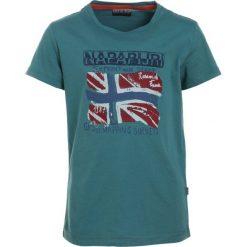T-shirty chłopięce: Napapijri SOLEX Tshirt z nadrukiem dark green