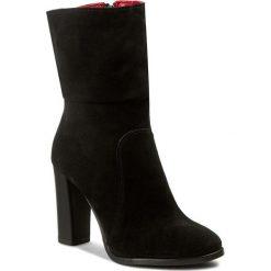 Kozaki KARINO - 2069/003-F Czarny. Fioletowe buty zimowe damskie marki Karino, ze skóry. W wyprzedaży za 259,00 zł.