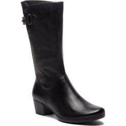 Buty zimowe damskie: Kozaki MARCO TOZZI - 2-25519-21 Black Antic 002