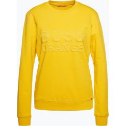 Bluzy rozpinane damskie: BOSS Casual - Damska bluza nierozpinana – Talago, żółty