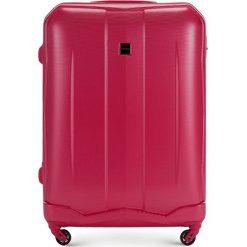 Walizka duża 56-3A-373-60. Czerwone walizki marki Wittchen, z gumy, duże. Za 199,00 zł.