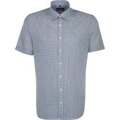 Koszule męskie na spinki: Koszula – Tailored – w kolorze biało-turkusowo-granatowym