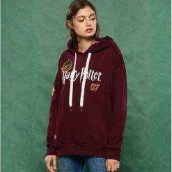 Bluza z kapturem Harry Potter - Bordowy. Czerwone bluzy z kapturem damskie marki Reserved, l. Za 79,99 zł.